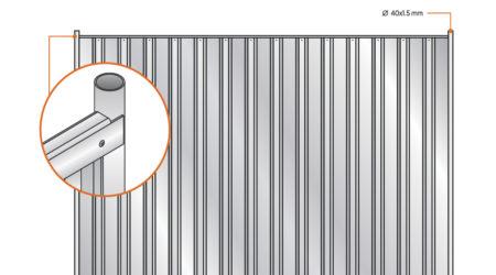 panel pelny ogrodzenia tymczasowe