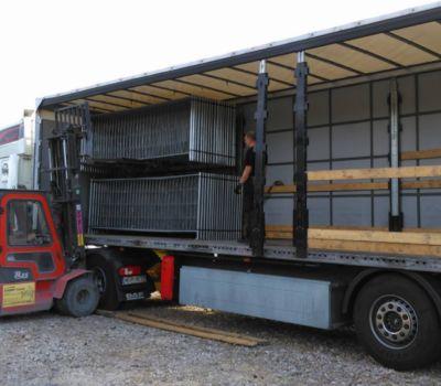 dip polska ogrodzenia transport montaz