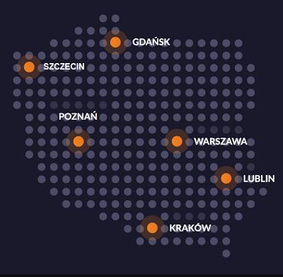 Mapka DiP Polska