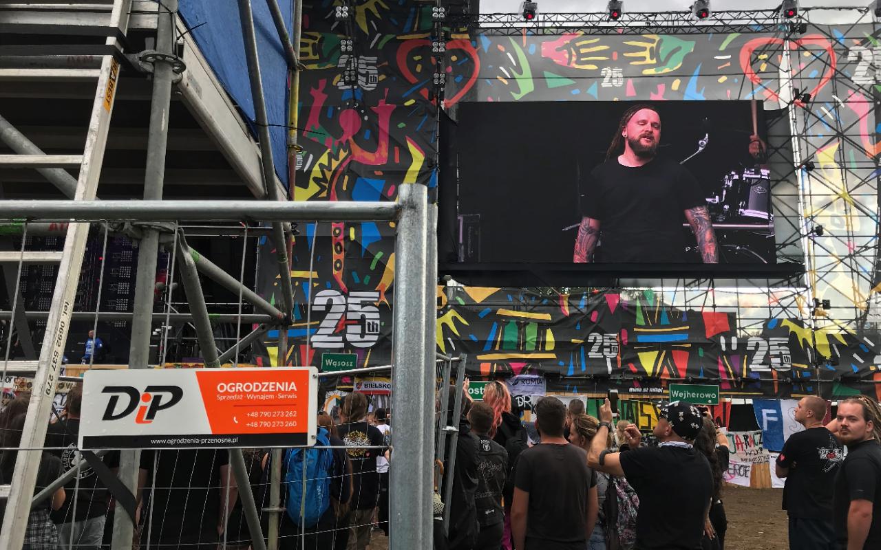 Pol'and Rock Festival 2019 – Współpraca DiP Polska