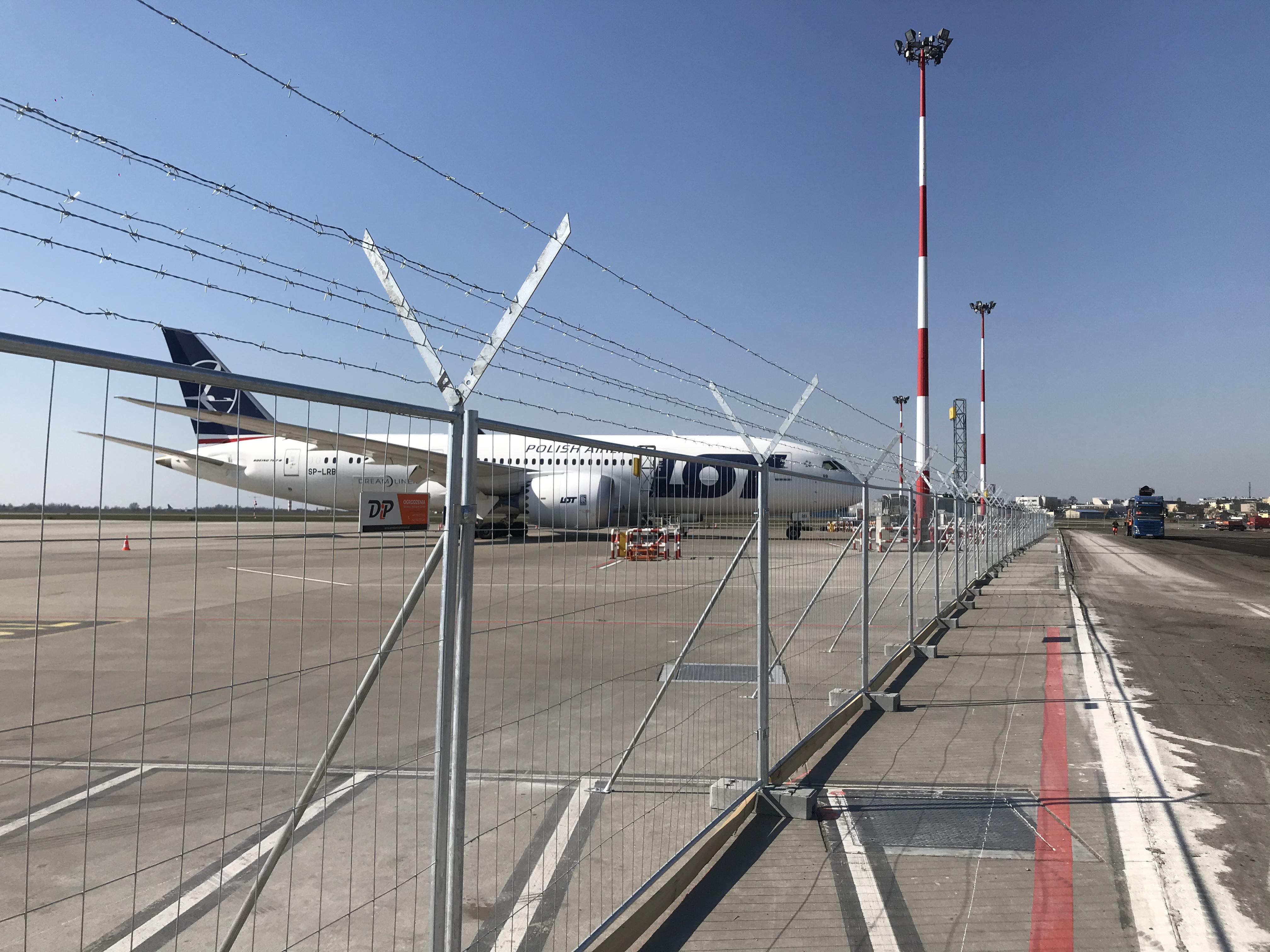 DiP Polska lotnisko Choppin 2020