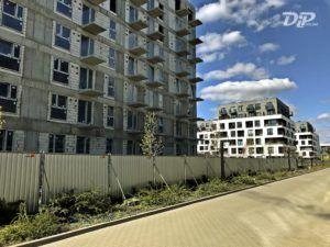 dip ogrodzenie budowlane panel pelny alucynk